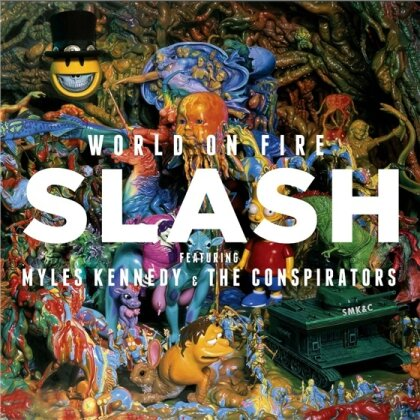 Slash feat. Myles Kennedy and The Conspirators - World On Fire (2 LPs)