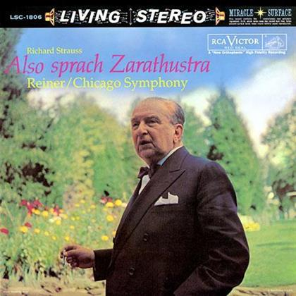 Richard Strauss (1864-1949), Fritz Reiner & Chicago Symphony Orchestra - Also Sprach Zarathustra - HQ (LP)