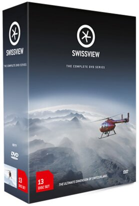 Swissview - Teil 1-4 (13 DVDs)