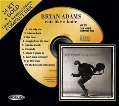 Bryan Adams - Cuts Like A Knife - Audio Fidelity Gold CD