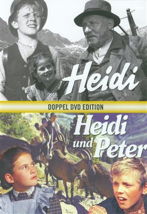 Heidi / Heidi und Peter - Doppel DVD Edition (Limited Edition, Restored, 2 DVDs)