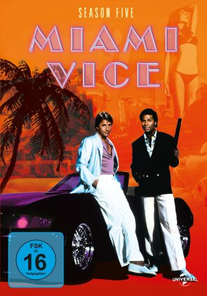 Miami Vice - Staffel 5 - Finale Staffel (6 DVDs)