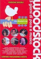 Various Artists - Woodstock (Director's Cut, Special Edition, 4 DVDs)