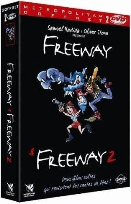 Freeway / Freeway 2 (Box, 2 DVDs)