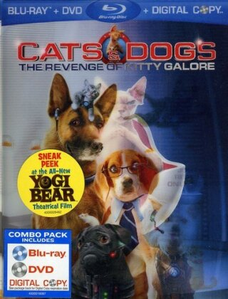 Cats & Dogs - The Revenge of Kitty Galore (2010) (Blu-ray + DVD + Digital Copy)