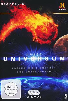 Unser Universum - Staffel 6 (History Channel, 3 DVDs)