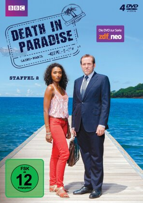 Death in Paradise - Staffel 2 (4 DVDs)