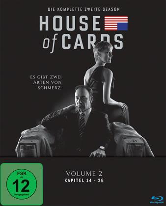 House of Cards - Staffel 2 (4 Blu-rays)