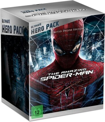 The Amazing Spider-Man - (Ultimate Hero Pack - Limited Deluxe Edition - Real 3D + 2D 2 Discs + Figur) (2012)