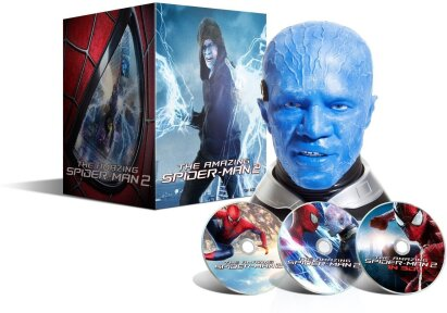 "The Amazing Spider-Man 2 - Rise of Electro (2014) (""Electro"" Sammler Edition, Limited Edition, Blu-ray 3D + 2 Blu-rays)"
