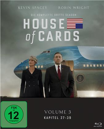House of Cards - Staffel 3 (4 Blu-rays)