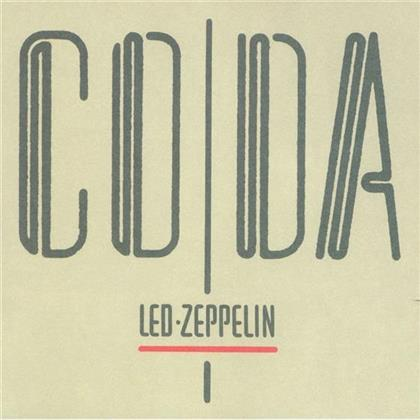Led Zeppelin - Coda - 2015 Reissue (Remastered, LP)