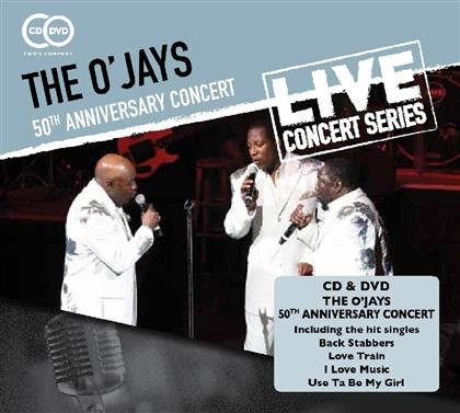 The O'Jays - 50th Anniversary Concert (CD + DVD)