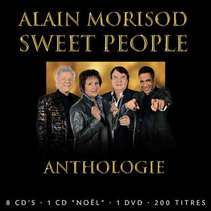 Alain Morisod & Sweet People - Anthologie (9 CDs + DVD)