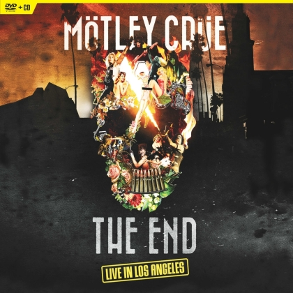 Mötley Crüe - The End : Live In Los Angeles (Limited Edition, 2 LPs + DVD)