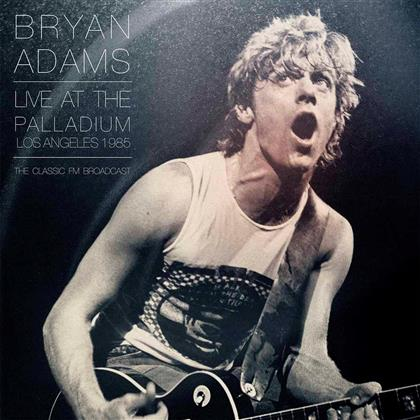Bryan Adams - At The La Palladium, 1985 (2 LPs)