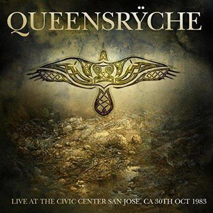 Queensryche - Live At The Civic Center. San Jose. Ca 30Th Oct 1983 (LP)