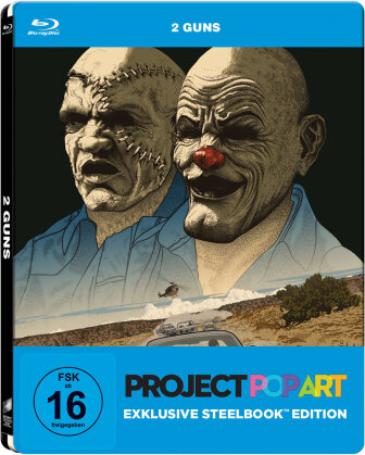 2 Guns (2013) (Project Pop Art Edition, Steelbook)