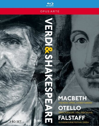 Various Artists - Verdi - The Shakespeare Operas - Macbeth / Otello / Falstaff (Opus Arte, 3 Blu-rays)