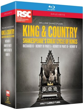 King & Country - Cycle of Kings (Opus Arte, Box, 4 Blu-rays) - Royal Shakespeare Company