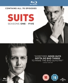 Suits - Seasons 1-5 (19 Blu-rays)