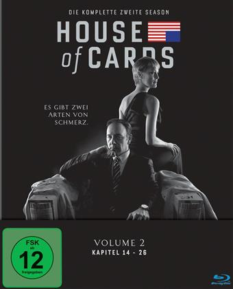 House of Cards - Staffel 2 (Neuauflage, 4 Blu-rays)