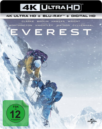 Everest (2015) (4K Ultra HD + Blu-ray)