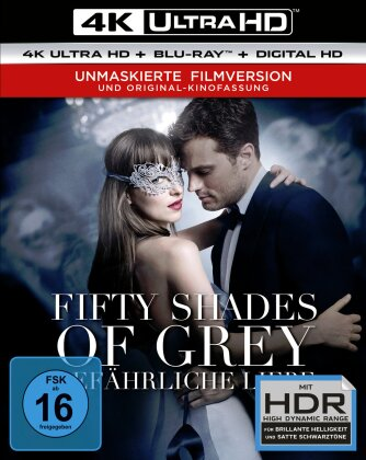 Fifty Shades of Grey 2 - Gefährliche Liebe (2017) (Unmaskierte Filmversion, Extended Edition, Kinoversion, 4K Ultra HD + Blu-ray)