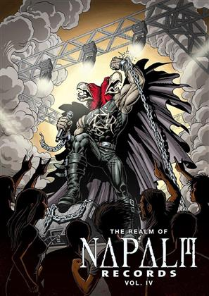 Various Artists - The Realm of Napalm Records Vol. 4 (Digibook, DVD + CD)