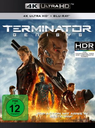 Terminator 5 (2015) (4K Ultra HD + Blu-ray)