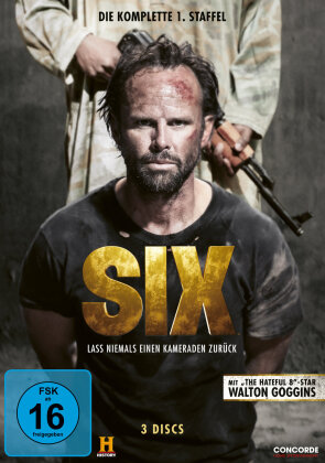 Six - Staffel 1 (History Channel, 3 DVDs)