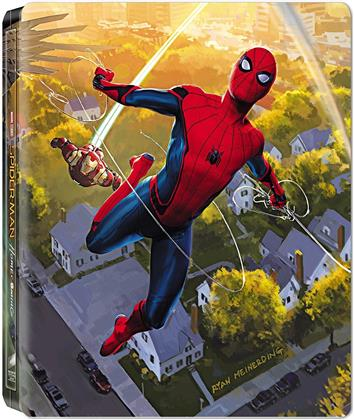 Spider-Man: Homecoming (2017) (Limited Edition, Steelbook, Blu-ray 3D + Blu-ray)