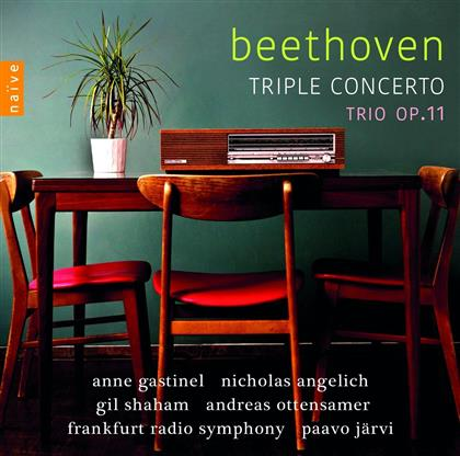 Nicholas Angelich, Anne Gastinel, Gil Shaham, Andreas Ottensamer, Ludwig van Beethoven (1770-1827), … - Triple Concerto/Trio Op.11