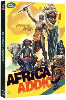 Africa Addio (1966) (Cover A, Eurocult Collection, Limited Edition, Mediabook, Uncut, Blu-ray + DVD)