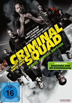 Criminal Squad (2018) (Special Edition, 2 DVDs)