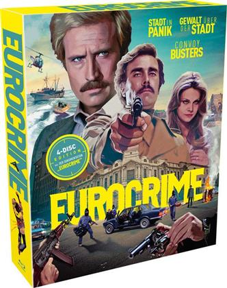 Eurocrime - 4-Disc Edition (Schuber, Digipack, Limited Edition, 4 Blu-rays)