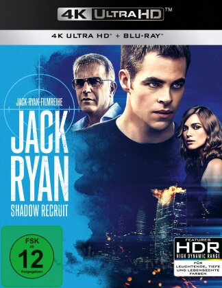 Jack Ryan - Shadow Recruit (2013) (4K Ultra HD + Blu-ray)