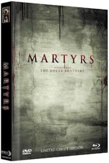 Martyrs (2015) (Cover B, Limited Edition, Mediabook, Uncut, Blu-ray + DVD)