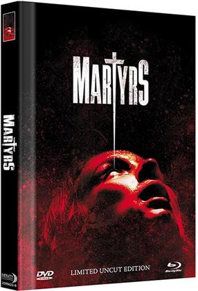 Martyrs (2015) (Cover C, Limited Edition, Mediabook, Uncut, Blu-ray + DVD)