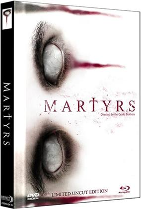 Martyrs (2015) (2015) (Cover D, Limited Edition, Mediabook, Uncut, Blu-ray + DVD)
