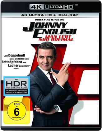 Johnny English 3 - Man lebt nur dreimal (2018) (4K Ultra HD + Blu-ray)