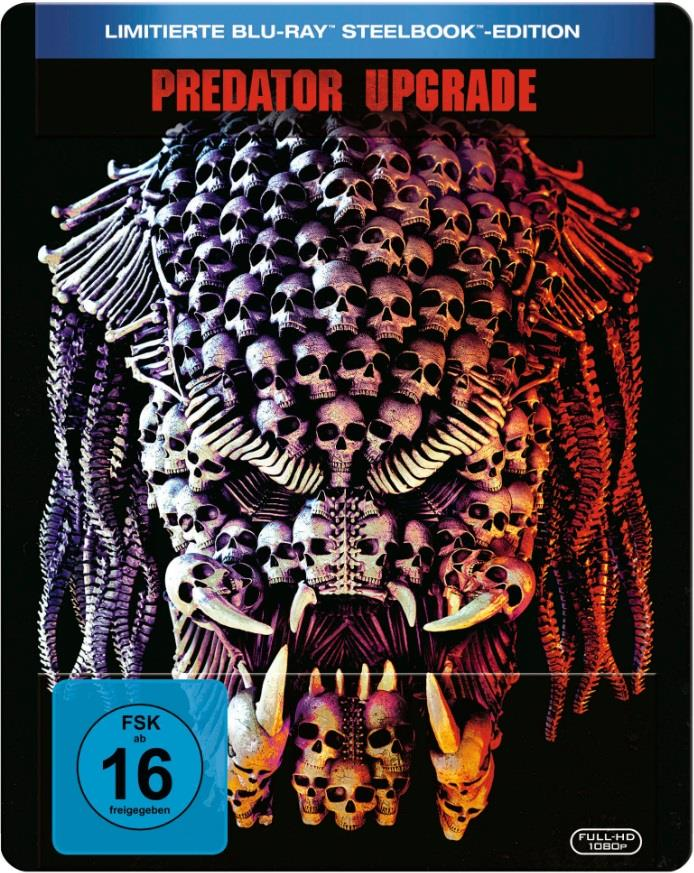 Predator - Upgrade (2018) (Limited Edition, Steelbook)