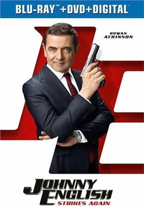 Johnny English 3 - Johnny English Strikes Again (2018) (Blu-ray + DVD)