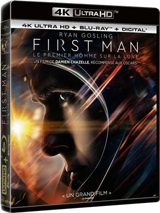 First Man - Le Premier Homme sur la Lune (2018) (4K Ultra HD + Blu-ray)