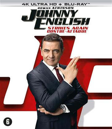 Johnny English 3 - Strikes Again - Contre-attaque (2018) (4K Ultra HD + Blu-ray)