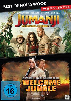 Jumanji - Willkommen im Dschungel / Welcome To The Jungle (Best of Hollywood, 2 DVDs)