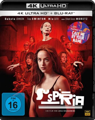 Suspiria (2018) (4K Ultra HD + Blu-ray)