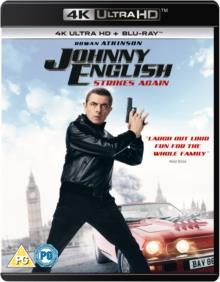Johnny English 3 - Johnny English Strikes Again (2018) (4K Ultra HD + Blu-ray)