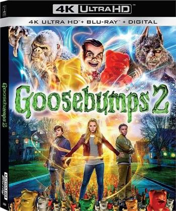 Goosebumps 2 (2018) (4K Ultra HD + Blu-ray)