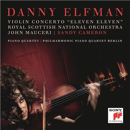 Danny Elfman, Sandy Cameron & Royal Scottish National Orchestra - Violin Concerto 'Eleven Eleven'